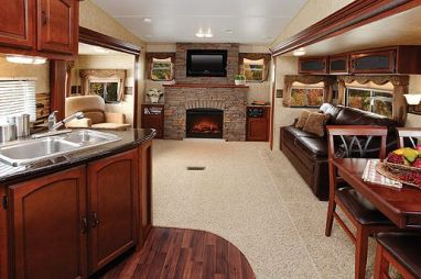 Motorhome RV Trailer Interiors 112