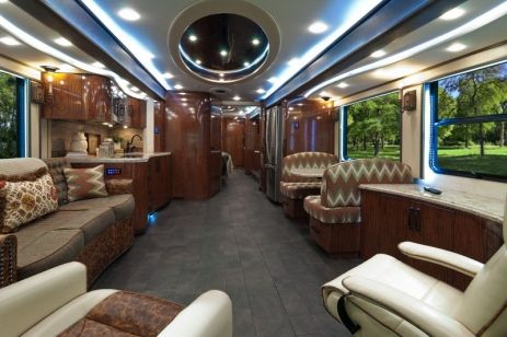 Motorhome RV Trailer Interiors 128