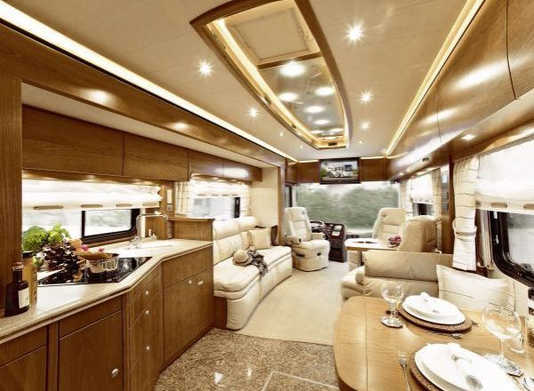 Motorhome RV Trailer Interiors 13