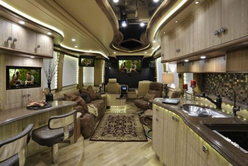 Motorhome RV Trailer Interiors 148
