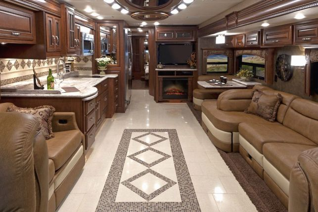 Motorhome RV Trailer Interiors 2