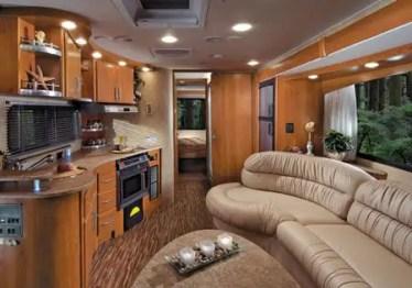 Motorhome RV Trailer Interiors 53