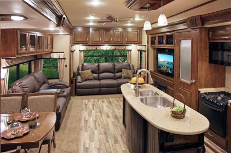 Motorhome RV Trailer Interiors 70