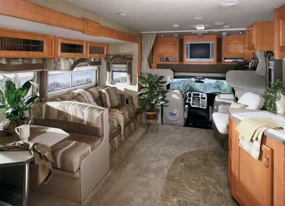 Motorhome RV Trailer Interiors 82