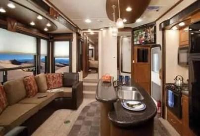 Motorhome RV Trailer Interiors 84