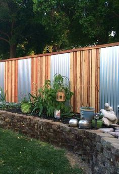 Privacy Fence Ideas 12