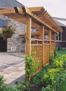 Privacy Fence Ideas 16