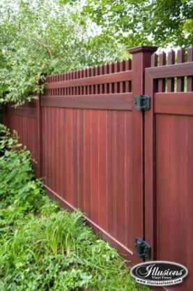 Privacy Fence Ideas 41