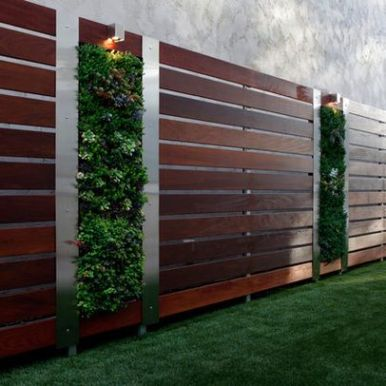Privacy Fence Ideas 64
