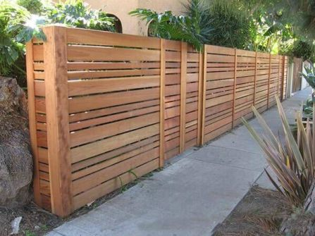 Privacy Fence Ideas 96