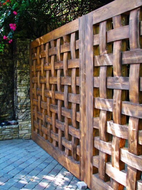 Privacy Fence Ideas 99