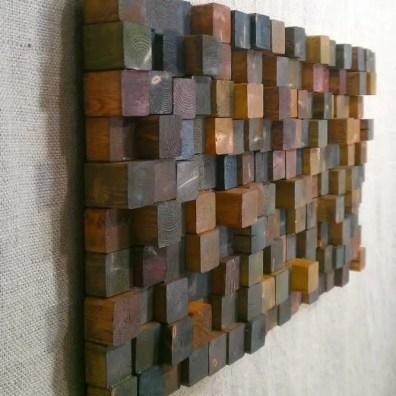 Reclaimed Wood Fireplace 10