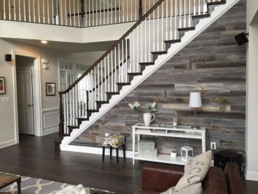 Reclaimed Wood Fireplace 103