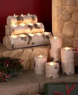 Reclaimed Wood Fireplace 104