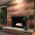 Reclaimed Wood Fireplace 11