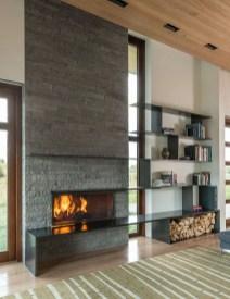 Reclaimed Wood Fireplace 121