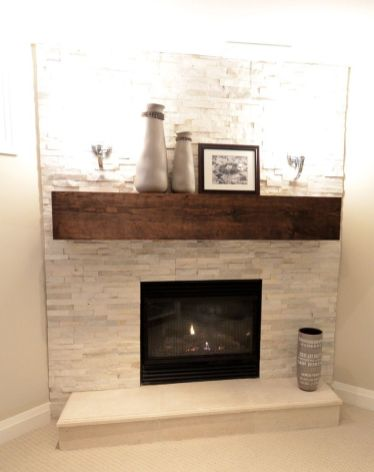 Reclaimed Wood Fireplace 133
