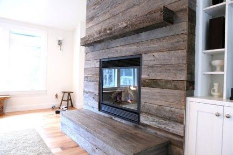 Reclaimed Wood Fireplace 18