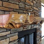Reclaimed Wood Fireplace 21