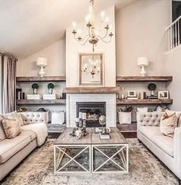 Reclaimed Wood Fireplace 22