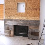 Reclaimed Wood Fireplace 39