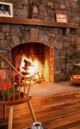 Reclaimed Wood Fireplace 45