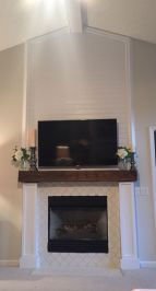 Reclaimed Wood Fireplace 46