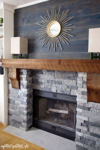 Reclaimed Wood Fireplace 5