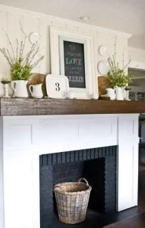 Reclaimed Wood Fireplace 54