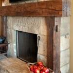 Reclaimed Wood Fireplace 56