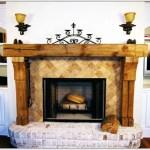 Reclaimed Wood Fireplace 76