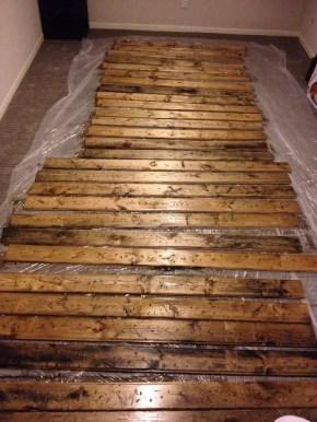 Reclaimed Wood Fireplace 80