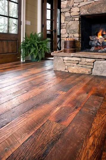 Reclaimed Wood Fireplace 88
