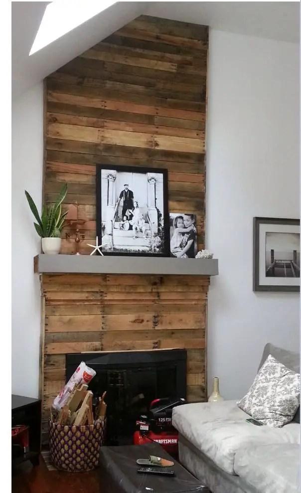 Reclaimed Wood Fireplace 99