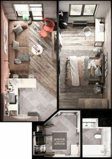 Small Apartment Bedroom Decor 111