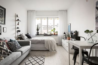 Small Apartment Bedroom Decor 122