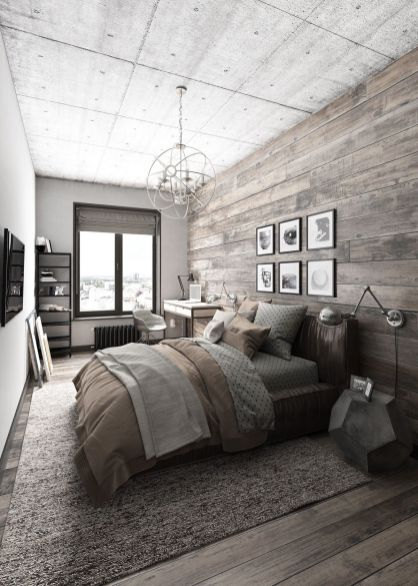 Small Apartment Bedroom Decor 134