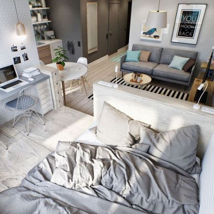 Small Apartment Bedroom Decor 29