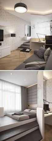 Small Apartment Bedroom Decor 63