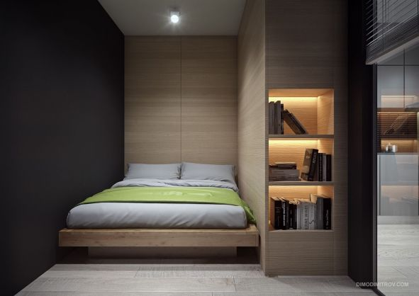 Small Apartment Bedroom Decor 73