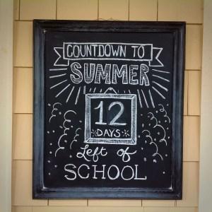Summer Chalkboard Art 113