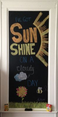 Summer Chalkboard Art 115