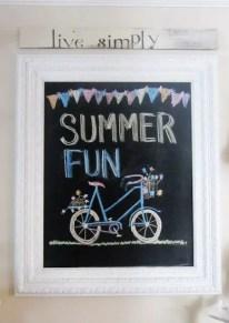 Summer Chalkboard Art 119