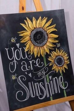Summer Chalkboard Art 122