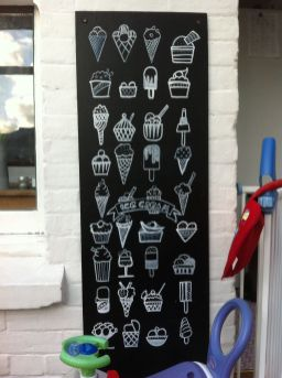 Summer Chalkboard Art 124