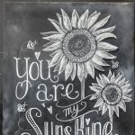 Summer Chalkboard Art 132