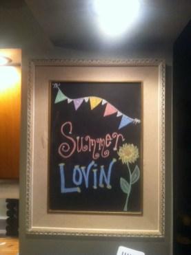Summer Chalkboard Art 138