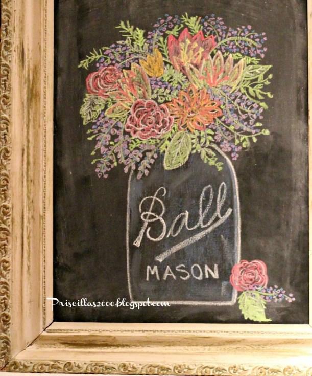 Summer Chalkboard Art 147