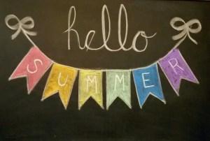 Summer Chalkboard Art 157