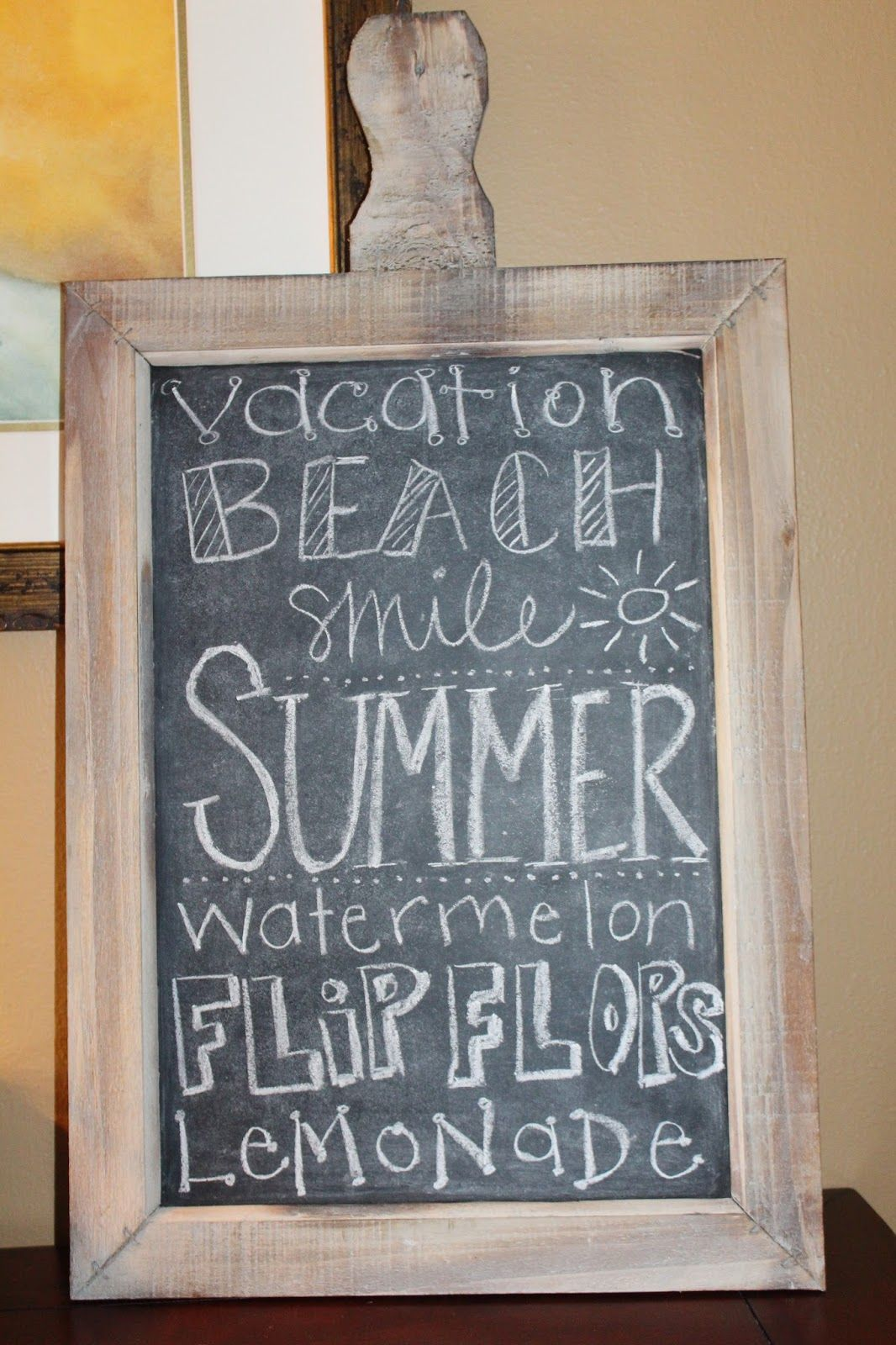 Summer Chalkboard Art 55